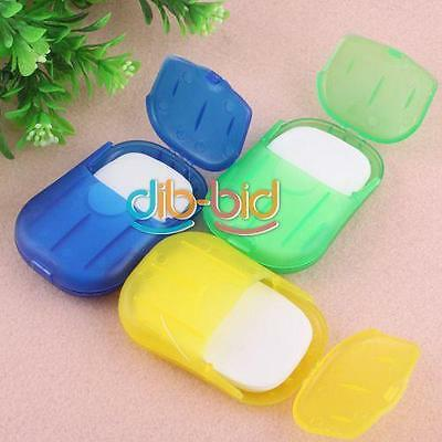Portable Fragrant Soap With Case Travel Hiking Camping Outdoor Wash Dirty DB