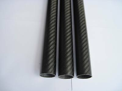 1pcs 25X23X700MM Carbon fiber tube Quadcopter Hexrcopter Octocopter arm 3K Twill