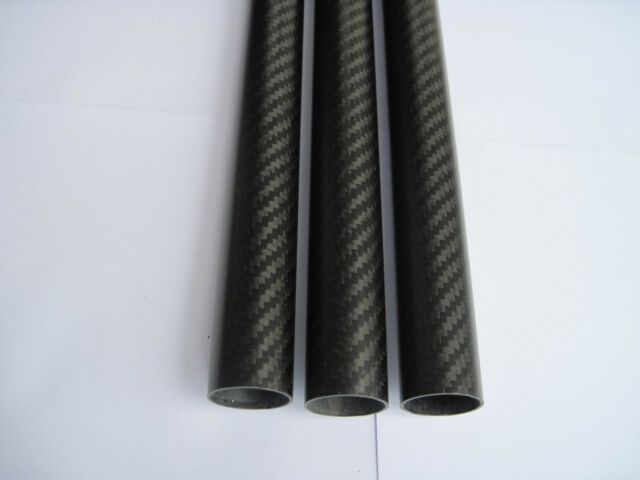 2pcs 25X23X600MM Carbon fiber tube Quadcopter Hexrcopter Octocopter arm 3K Twill