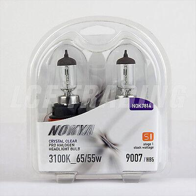 Nokya Crystal Clear 9007/HB5 65/55W Headlight Bulbs / DOT Approved — NOK7814