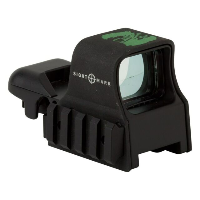 Sightmark SM13005Z Zombie Ultra Shot Holographic Green Dot Reflex Sight – NEW