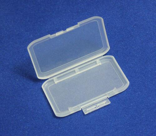 100 piezas de Memoria Stick//Pro Caja protectora de plástico de los casos tarjeta Larga MS casos