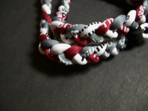 TITANIUM BASEBALL // SPORTS NECKLACES -NEW L@@K! WOW Colleges, OHIO STATE, OSU