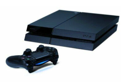Sony PlayStation 4 (PS4) (Latest Model)- 500 GB Jet Black Console