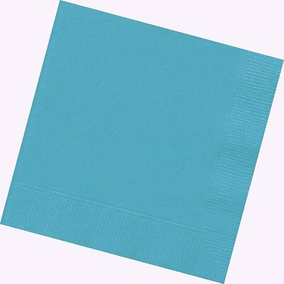 20 TURQUOISE TEAL Table SERVIETTE NAPKIN Party 33cm 2ply