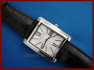 New-MICHAEL-KORS-MK2242-Women-039-s-Black-Leather-Band-Watch