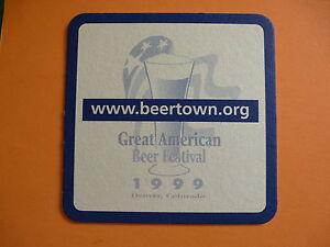 BIRRA-SOTTOBICCHIERE-Americana-FEST-1999-festival-Denver-COLORADO-boelter