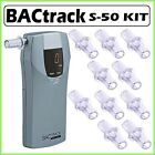 Bactrack Select S-50 Digital Portable Breathalyzer + 10 Pack Of Mouthpieces