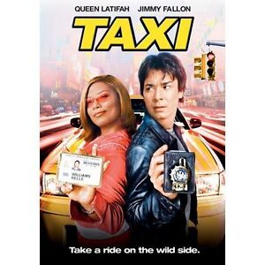 Taxi-DVD-2005-Dual-Sided-Full-Frame-Widescreen-Extended-Disc-Only