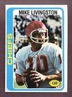 1978 Topps Mike Livingston #183 Football Card