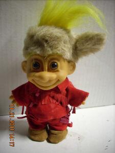 12 Russ Davey Crockett 5 inch Troll Doll - Mint Condition - New Gift
