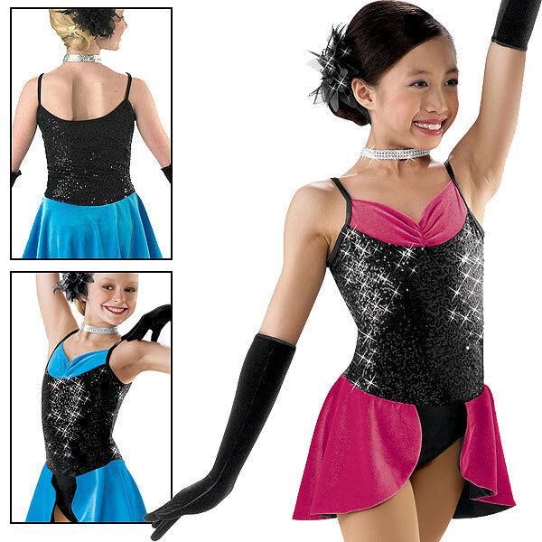 NWT Skating Dance Costume Jazz Twirl Baton Tap 5143