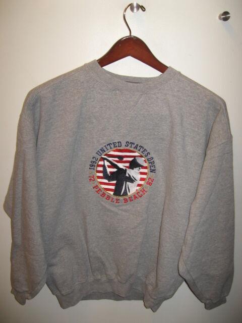 U.S. Open Golf Tournament 1992 Pebble Beach California Embroidered Sweatshirt M