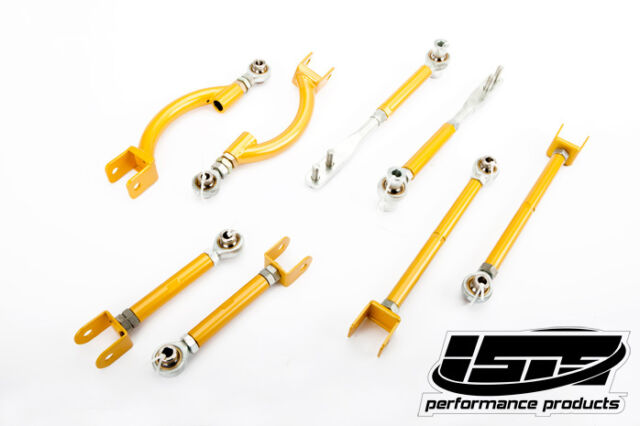 ISIS / ISR COMPLETE SUSPENSION ARM PACKAGE TENSION TC ROD RUCA TOE CAMBER S13
