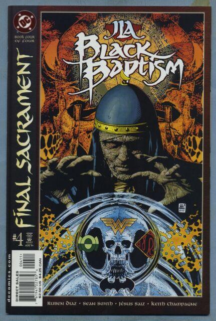 JLA Black Baptism #4 2001 Tim Bradstreet DC Comics