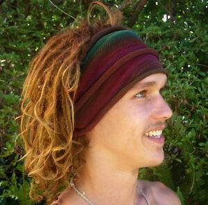 Forest-Earth-Tie-Dyed-Headwrap-Hair-amp-Dreadband-Head-Wrap-Cotton-Dreadwrap