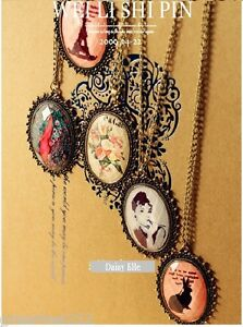 Korean-European-Retro-Celebrity-Fashion-Pink-Rabbit-Vintage-Sweater-Necklace
