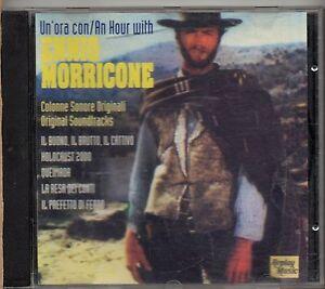 ENNIO-MORRICONE-raro-CD-UN-039-ORA-CON-AN-HOUR-WITH-made-in-ITALY-fuori-catalogo