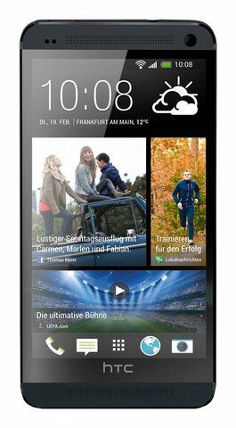 Mint Sprint HTC One M7 32GB Android Smartphone Black