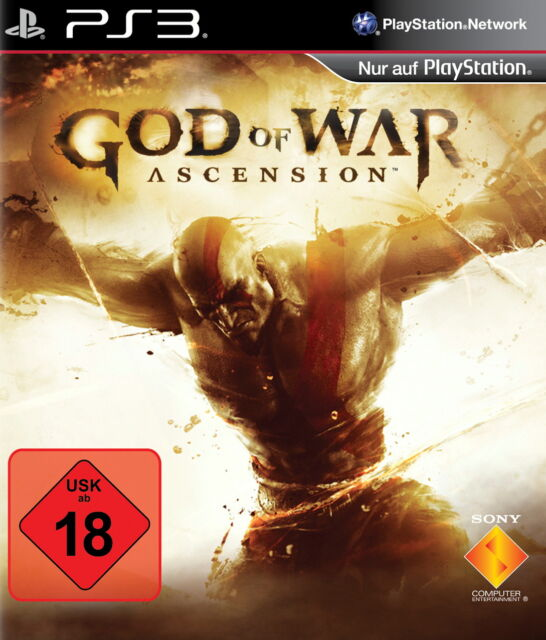 God of War: Ascension (Sony PlayStation 3, 2013, DVD-Box)