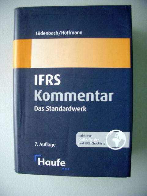 IFRS Kommentar Standardwerk Haufe International Financial Reporting Standard