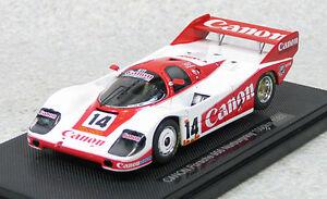 Ebbro 44360 Canon Porsche 956 1983 Nurburgring 1000km ( White / Red ) 1/43 scale