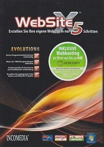 WebSite-X5-Evolution-V-8-Webdesign-Web-Seiten-Software
