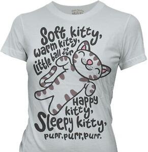 THE-BIG-BANG-THEORY-Soft-Warm-Kitty-Little-Ball-Fur-Womens-Juniors-Tee-T-Shirt