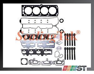 Fit-2004-05-Suzuki-2-0L-Engine-Cylinder-Head-Gasket-Set-w-Bolts-Kit-Chevy-Optra