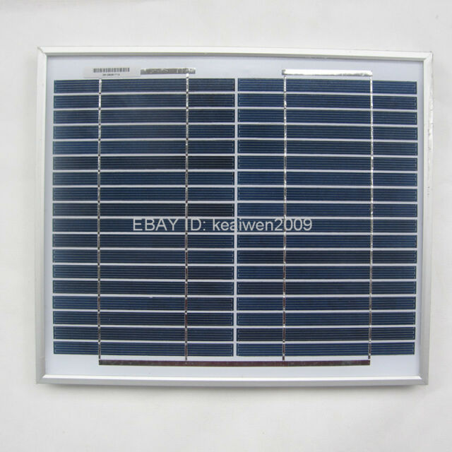 18V 10W solar panel charge 12V DC & RV battery solar panel power system best
