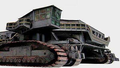 Crawler Transporter, 1:72 for Dragon Apollo Saturn V & LUT Model Craft Kit Read