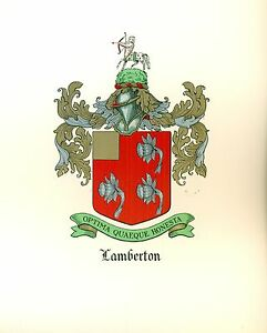 Great-Coat-of-Arms-Lamberton-Family-Crest-genealogy-would-look-great-framed