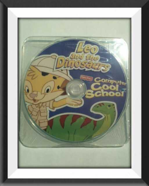 Fisher-Price Computer Cool School Leo And The Dinosaurs Software