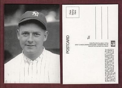 C M Conlon postcard: WAITE HOYT, Yankees HOF (1984 Marketcom/The Sporting News)