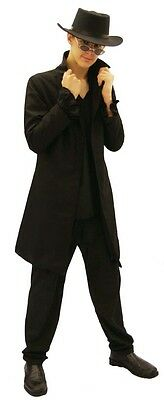 VICTORIAN /EDWARDIAN/GOTHIC STEAMPUNK  FROCK COAT ALL MALE SIZES