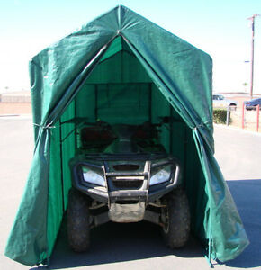 Portable Motorcycle Jet Ski Atv Tent Storage Shed Cover