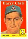 1958 Topps Harry Chiti Kansas City Athletics #119 Baseball Card
