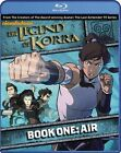 The Legend of Korra: Book One - Air (Blu-ray Disc, 2013, 2-Disc Set)