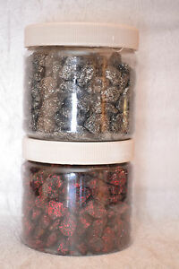 680G-BLACK-PEBBLES-WITH-RED-OR-SILVER-GLITTER-TABLE-DECORATION-VASE-FILLER
