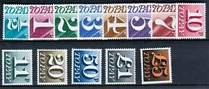 1970-75 GB Postage Due Set 13 Values Unmounted Mint SGD77-89 SC52