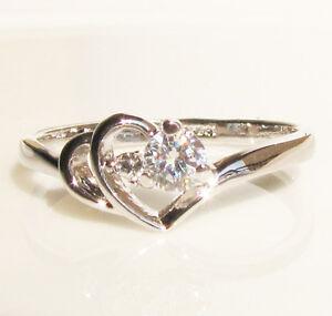 1-46CT-Heart-Swarovski-Crystal-GP-Wedding-Ring-Engagement-Promise-Christmas-Gift