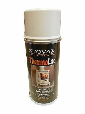 Stovax Ivory Thermolac Stove Paint 150ml Brunel Huntington Stoves Flue Pipes