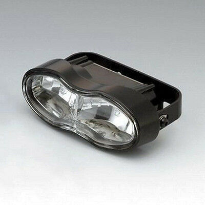 Streetfighter motorcycle headlight beam light - Wave ET oval double H3 universal