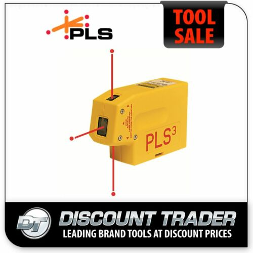 PLS Self Levelling Laser Plumb Bob 3 Beam Point Alignment Plumb Dot Laser - PLS3