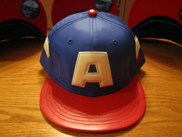 2b757276fa8 The Avengers Captain America New Era Hat 59Fifty Brand New Size 7 1 2