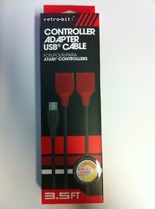 NEW-Dual-Port-PC-Computer-USB-Port-Controller-Adapter-for-ATARI-2600-JOYSTICK