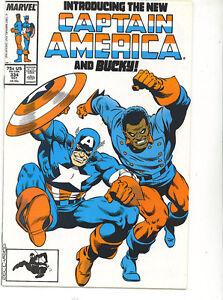 Captain-America-334-vfn-nm-1987-cents-Marvel-Comics-US-comics