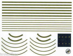Gemini Jets GJAPS007 Decal Sheet 1:400 Airport Diorama for Ground Foil Runway