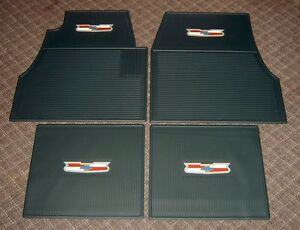 1955 1956 1957 chevy dark green floor mats new set 4 ebay