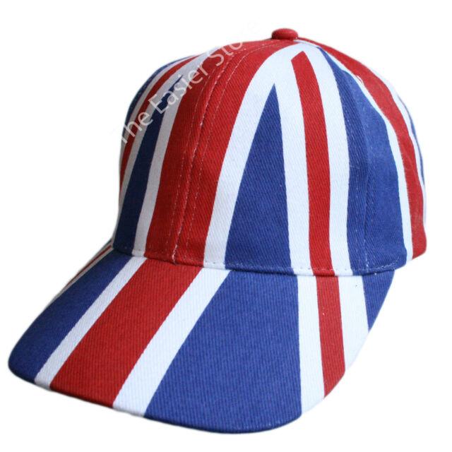 NEW Union Jack Baseball Cap British Olympic Flag Jubilee Hat UK Mens Womens